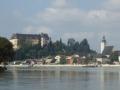 Donauradweg gegenüber Grein