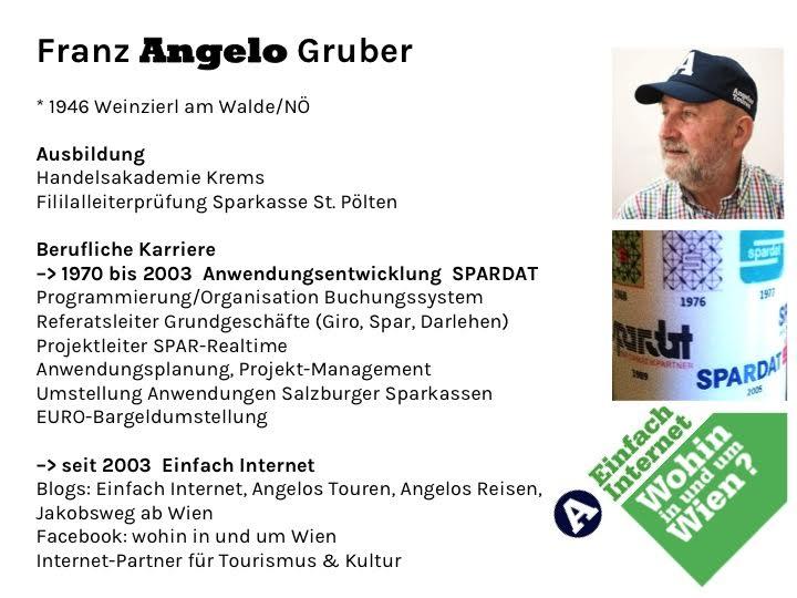 Biographie Franz ANGELO Gruber