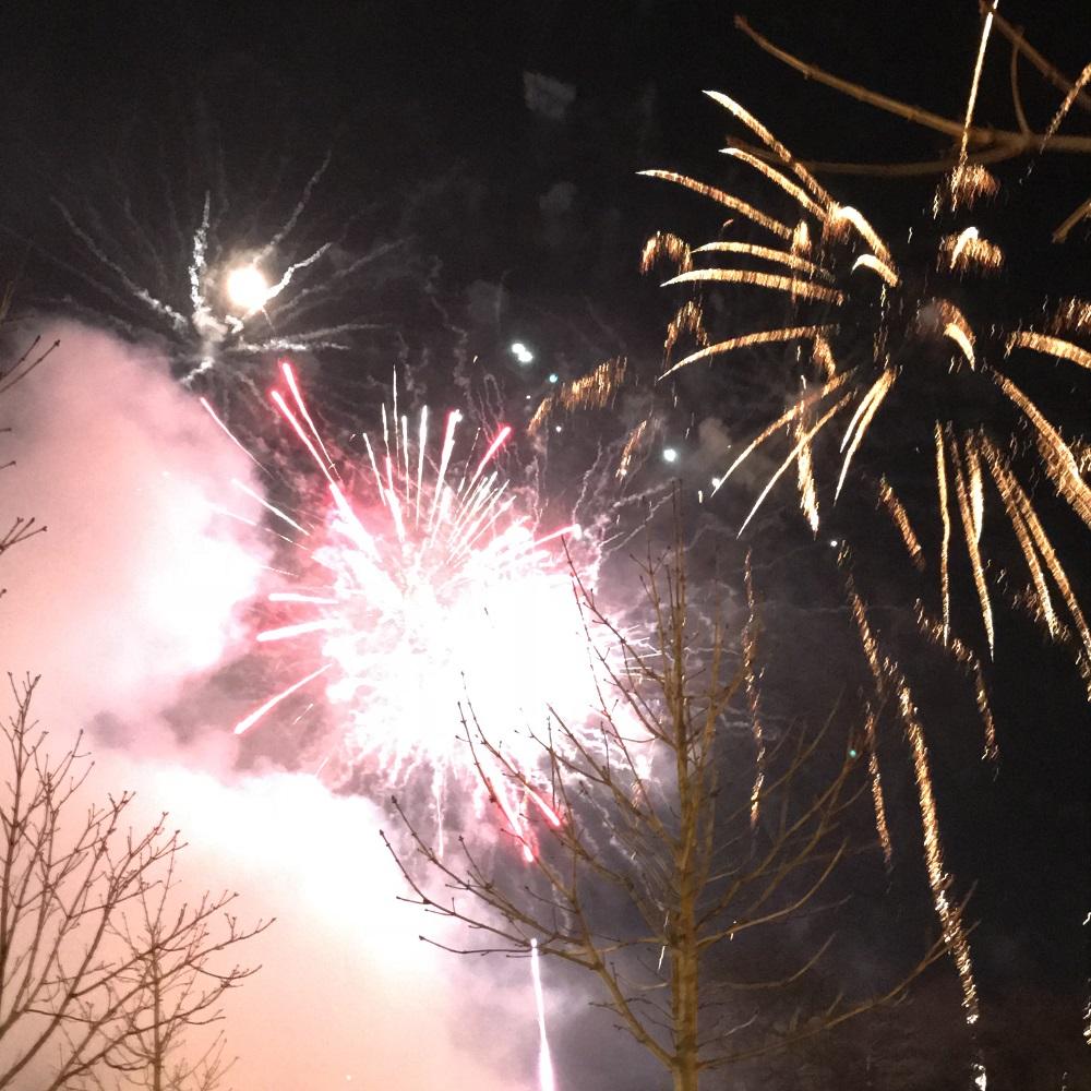Silvesterfeuerwerk Baden